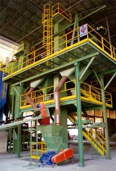 PROCESSING PLANTS FOR EXTRUDED HEAVY CLAY PRODUCTS AND BRICKS