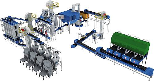 M&S - DRY MILLING PLANTS FOR CERAMICS INDUSTRY